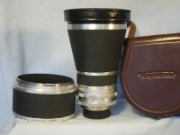 '       200MM F4 SUPER DYNAREX CASED-GREAT BOKEH-MINT-' Voigtlander Bessamatic 200mm F4 Lens £199.99